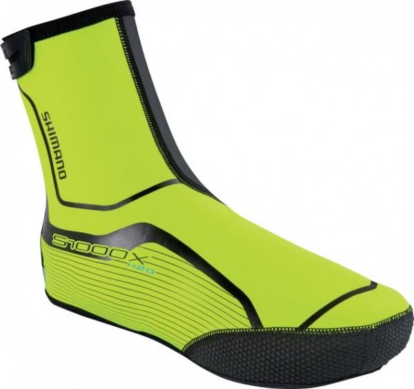 Shimano Trail H2O Shoe Cover neon yellow