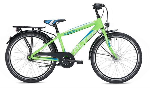 Falter FX 407 ND 24 Zoll Diamant grün/blau Kinderrad