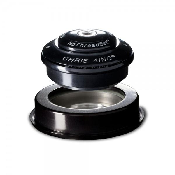 "Chris King InSet 2 Tapered Steuersatz, 1 1/8""- 1.5"" - GripLock - ZS44/28.6 | ZS56/40 schwarz"