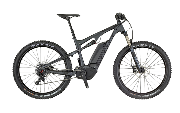 Scott E-Genius 730 anthracite/black/gray 2018