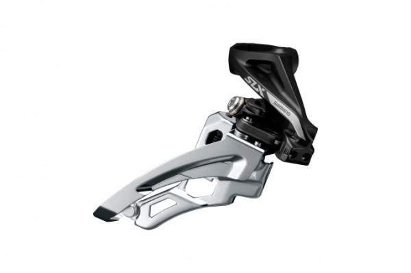 Shimano SLX Umwerfer FD-M7000 3x10 Side-Swing, Schelle hoch