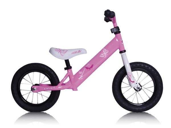 """Rebel Kidz Bike 12,5"""" Air - steel pink"""
