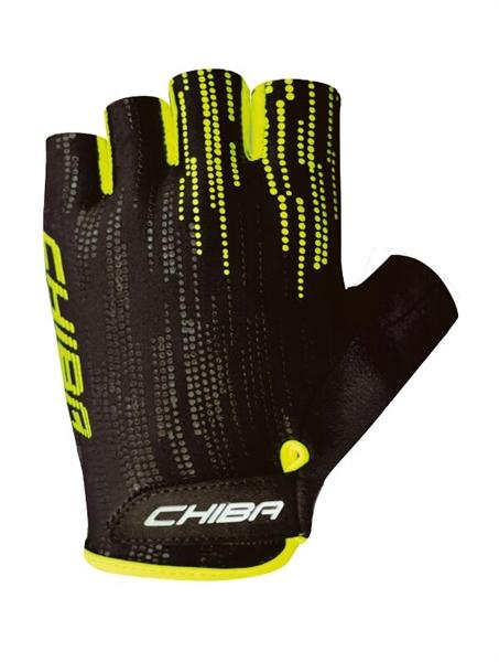 Chiba Road Plus gloves black / neon