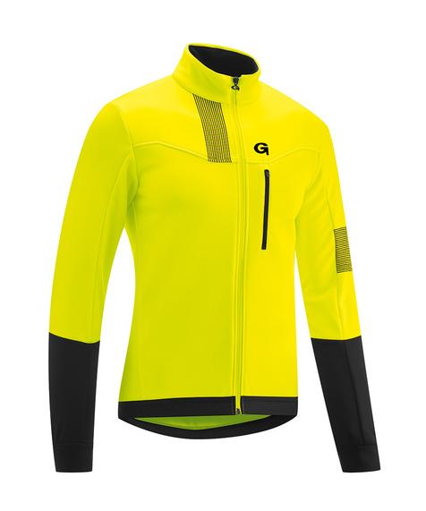 Gonso Valaff Softshell Jacket safety yellow