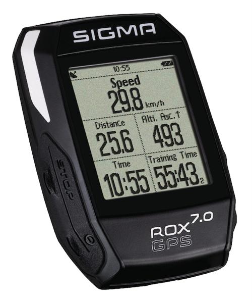 Sigma High-End Fahrradcomputer ROX 7.0 GPS schwarz
