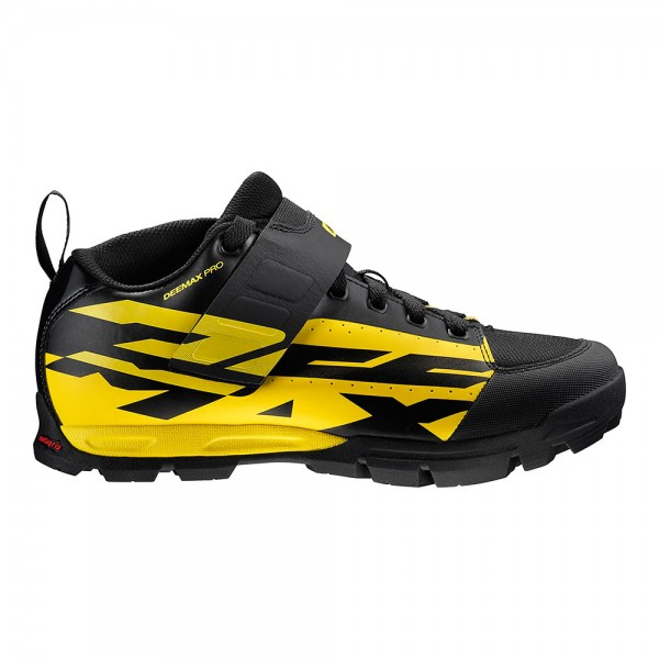 Mavic Deemax Pro MTB Shoe yellow mavic/black