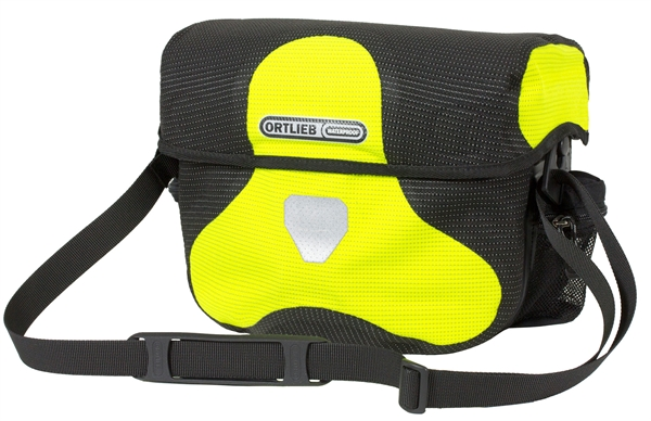 Ortlieb Ultimate Six High Visibility neon yellow-black reflective 7L