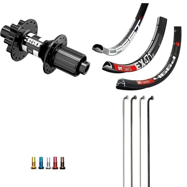 DT Swiss 350 Disc IS Custom Rear Wheel MTB 26er
