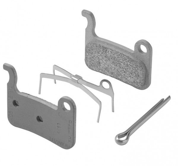Shimano disc brake pads M06Ti Metal for XTR BR-M975 and XT BR-M775