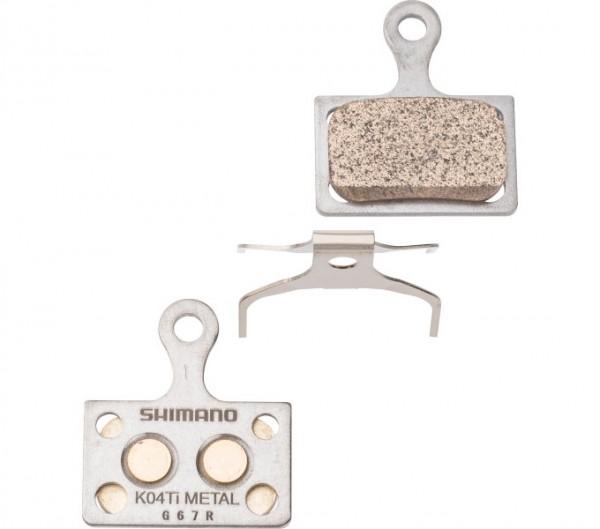 Shimano Disk Brake Pad K04 TI Metal