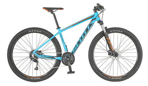 Scott Aspect 750 light blue/red 2019