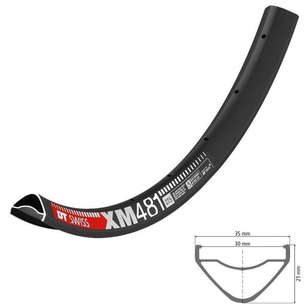 """DT Swiss XM 481 Rim 27,5"""" 