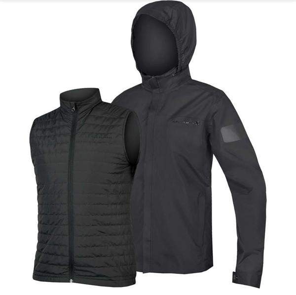 Endura Urban 3 in 1 Waterproof Jacket anthrazit