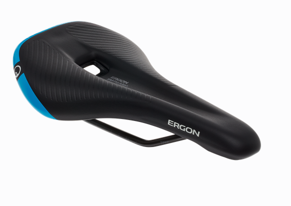 Ergon SM Pro MTB/All Mountain Sattel black/blue