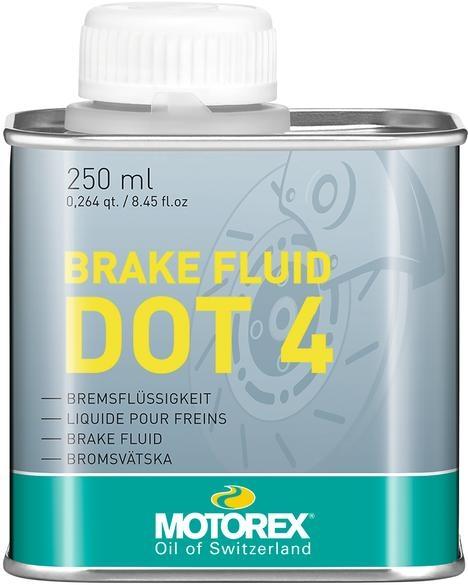 Motorex Brake Fluid Bremsflüssigkeit DOT 4 - 250ml