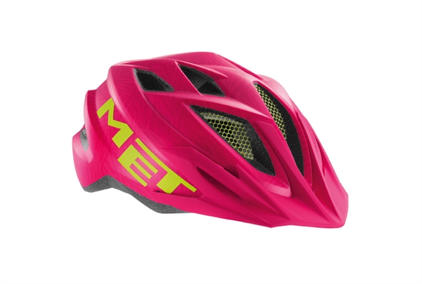 Met Crackerjack Helmet Pink/Green Texture - Unisize