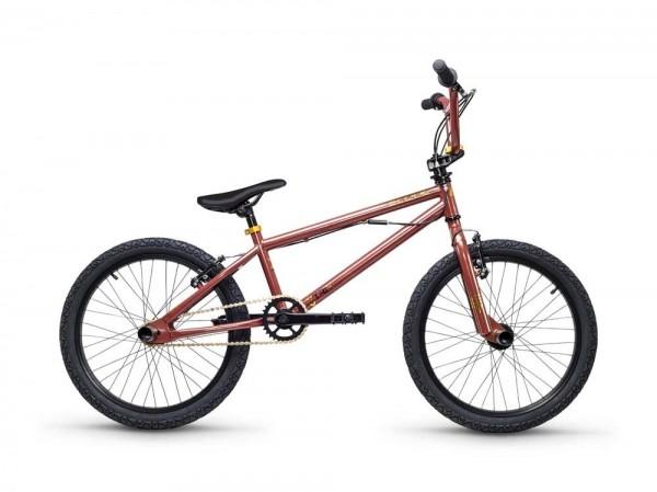 S´COOL XtriX 20 BMX 20'' Steel 1-speed brown/gold glossy