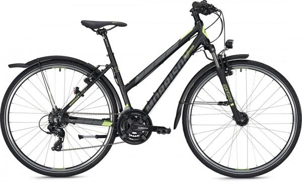 "Morrison Crossbike X 1.0 Trapez 28"" Black Matt"