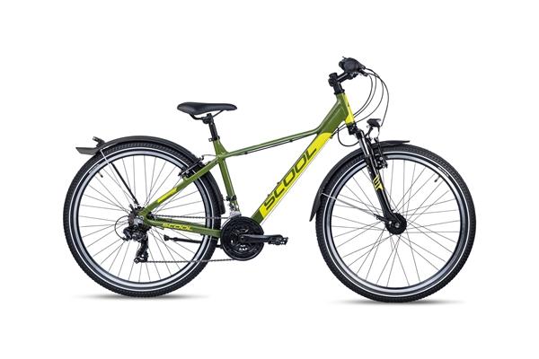S´COOL troX 26 EVO Aluminium 21-Gang green/lemon matt