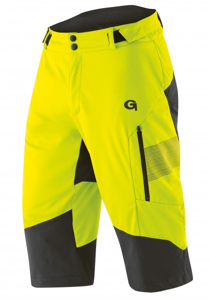 Gonso Sirac Shorts safety yellow
