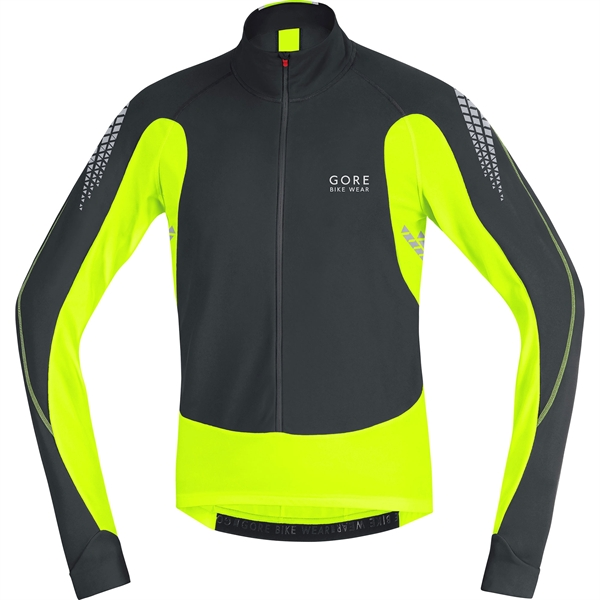 f7cb393a4 Gore Bike Wear Xenon 2.0 Thermo Trikot black   neon yellow