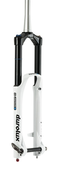 "Suntour SF16 Durolux R2C2 - 27.5"" - 180mm - white"