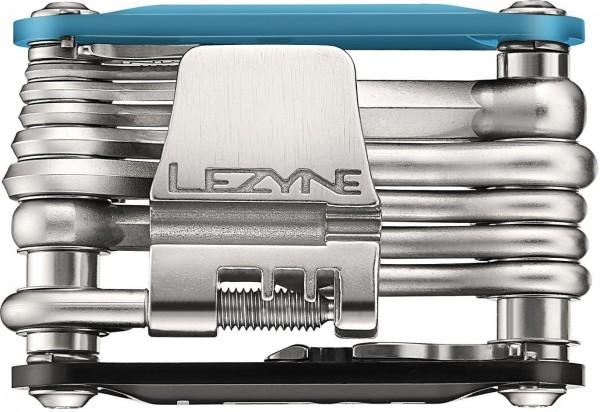 Lezyne Multifunktionswerkzeug RAP-20 / blau-schwarz