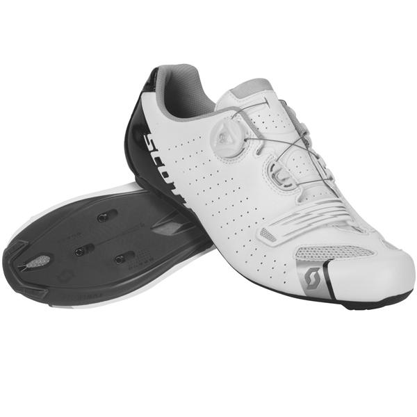 Scott Shoe Road Comp Boa white black gloss
