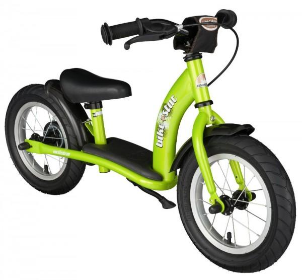 Bikestar Sicherheits-Kinderlaufrad Classic 12 Zoll brilliant grün