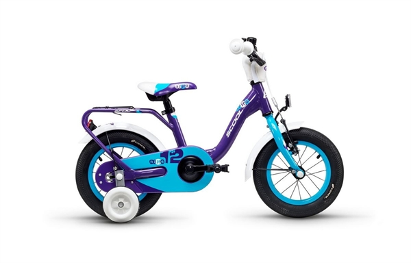 S´COOL niXe 12 Aluminium 1-speed violet/blue