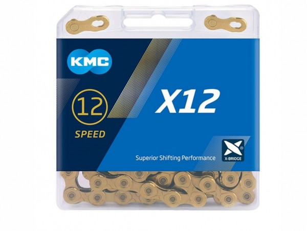 KMC X12 TI-N Chain 126 Pieces