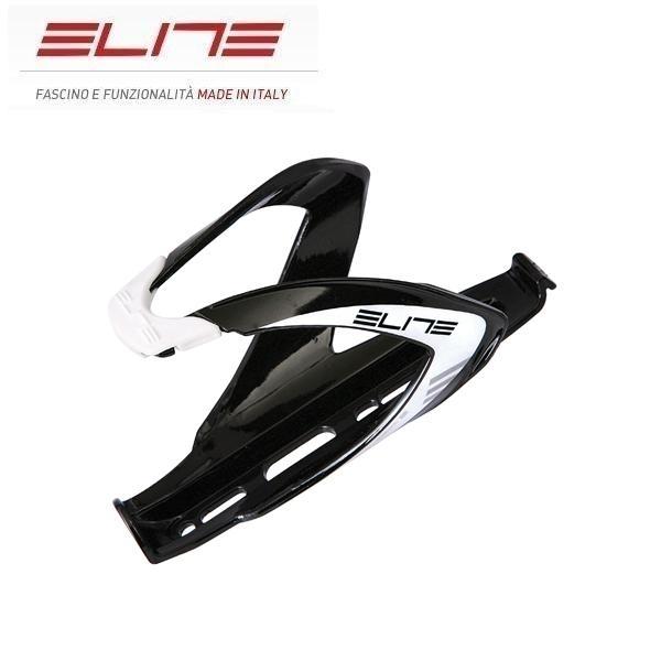 Elite Custom Race Flaschenhalter schwarz glänzend