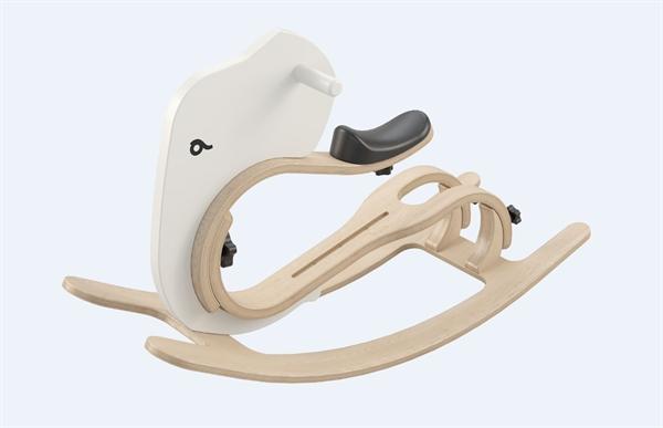 Leg&go Rocking Elephant gray / Schaukeltier - Zusatzteil zu leg&go 3in1 Laufrad, 6 - 18 Monate, 12''