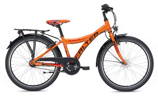 Falter FX 407 ND 24 inch Y orange/black Kids Bike