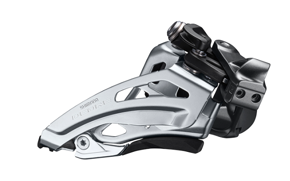 Shimano Deore front derailleur FD-M6000 2x10 Side-Swing, clamp on low