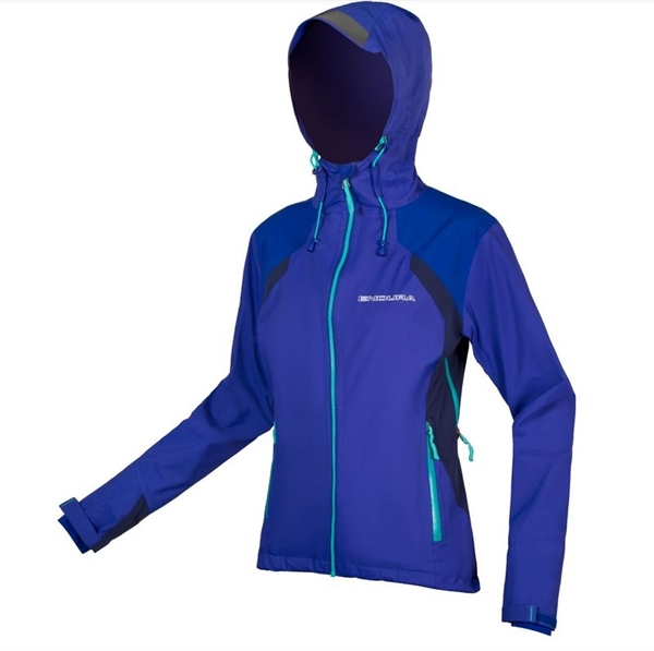 Endura WMS MT500 waterproof jacket II Women cobald blue