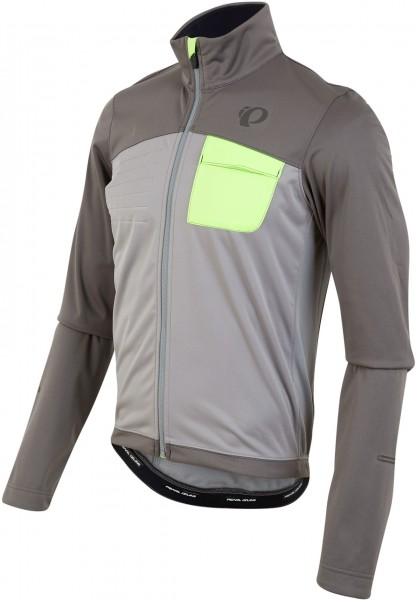 Pearl Izumi Select Escape Softshell Jacket smoked pearl/ monument