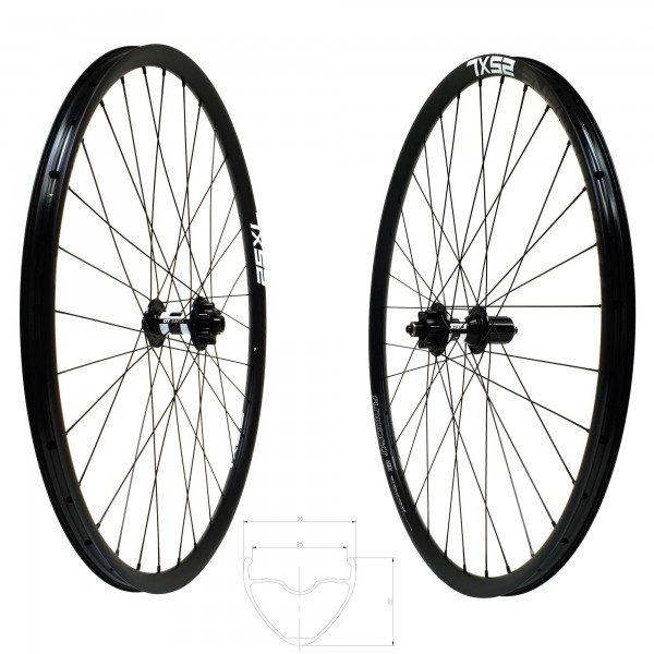 DT Swiss 350 Disc IS Atmosphere 25 XL Comp Race Laufradsatz 650b 1670g