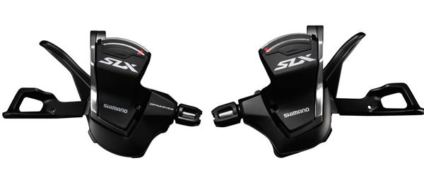 Shimano SLX Schalthebel SL-M7000 2/3x10-fach Set mit Schelle