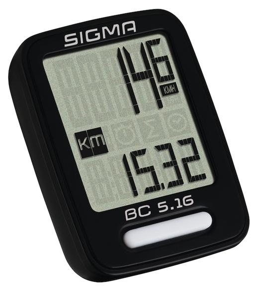 Sigma Radcomputer BC 5.16 schwarz