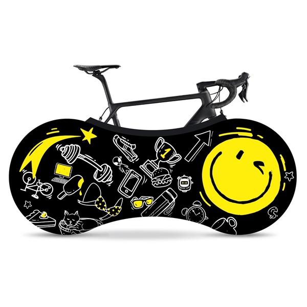 VELOSOCK Indoor Bicycle Garage Smiley
