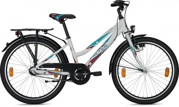 Falter FX 403 Trave 24'' Kids Bike - white