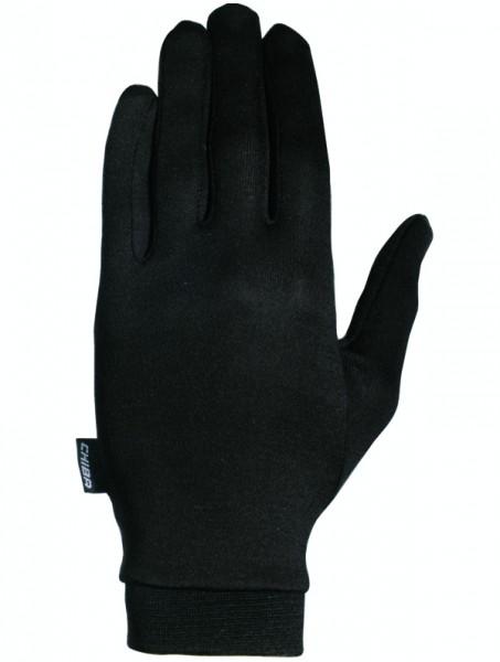 Chiba Seidenhandschuh schwarz %