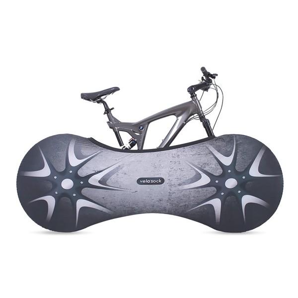 VELOSOCK Sport Pro Indoor Bicycle Garage Silverbird