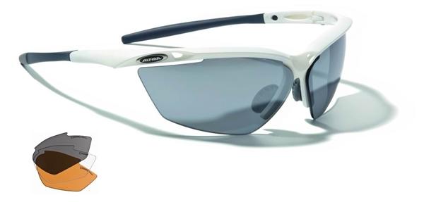 Alpina Tri-Guard 50 glasses white-grey matt