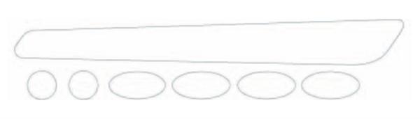 BBB Rahmenschutzsticker BikeSkin BBP-51 Clear Look
