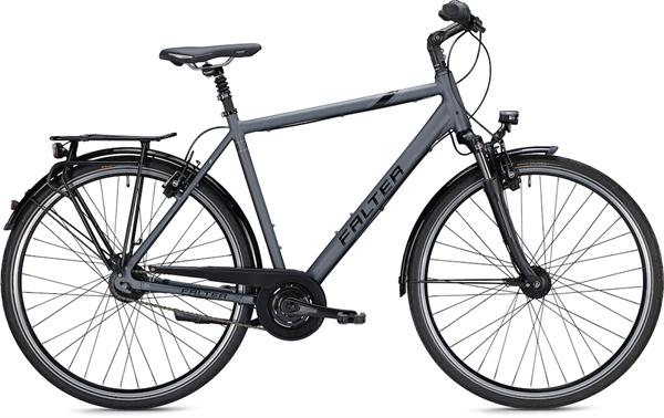 "Falter City / Urbanbike C 6.0 Men XL (60) 28 ""Matt anthracite"