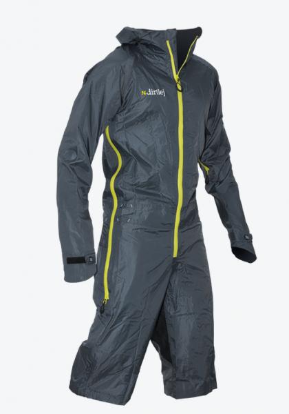 Dirtlej Dirtsuit - light Edition - grey/yellow