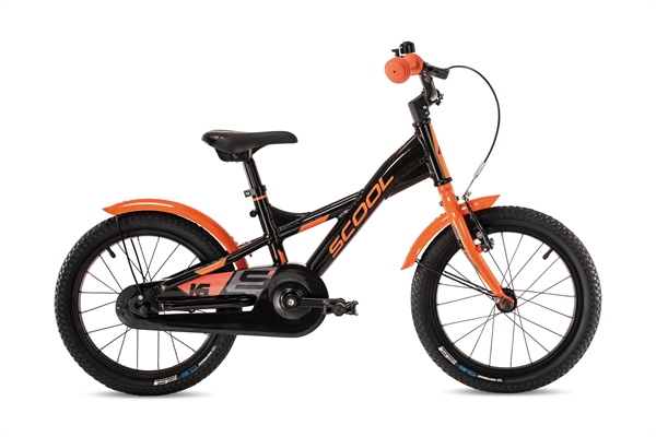 S´COOL XXlite 16 Aluminium 1-Gang black/orange