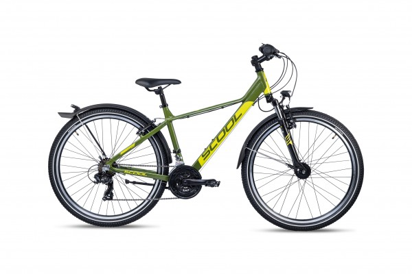 S´COOL troX 26 EVO alloy 21-speed green/lemon matt #varinfo